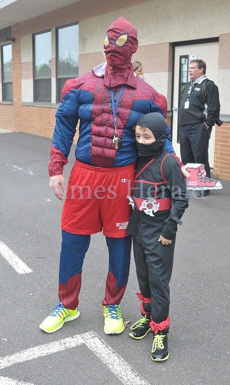 . Whitemarsh Elementary School holds their annual Halloween Parade.  Whitemarsh, October 31, 2013.  Photo by Adrianna Hoff/Times Herald Staff.
